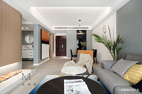 精美100平现代二居布置图二居现代简约家装装修案例效果图