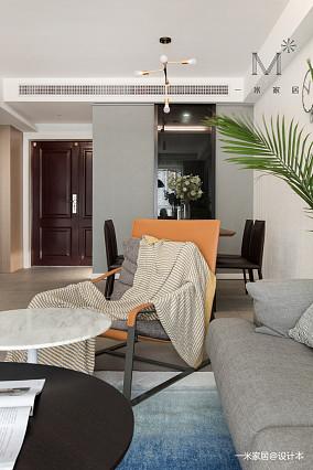 华丽74平现代二居布置图二居现代简约家装装修案例效果图