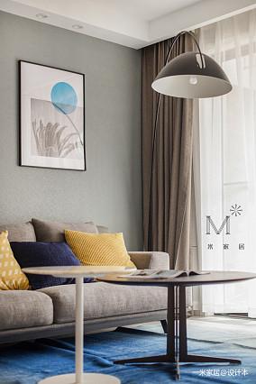 浪漫76平现代二居图片大全二居现代简约家装装修案例效果图