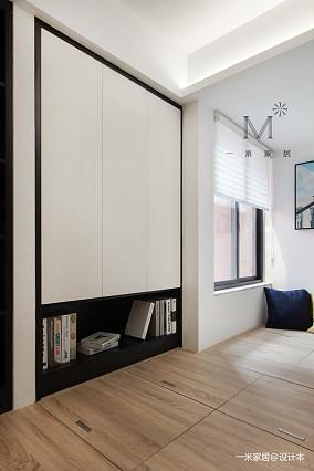 精致52平现代二居设计图二居现代简约家装装修案例效果图