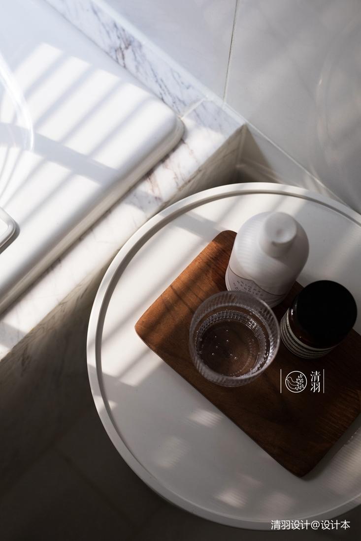 简洁148平混搭四居卫生间装饰图卫生间潮流混搭卫生间设计图片赏析