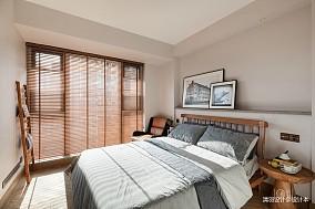 简洁147平混搭四居卧室设计案例