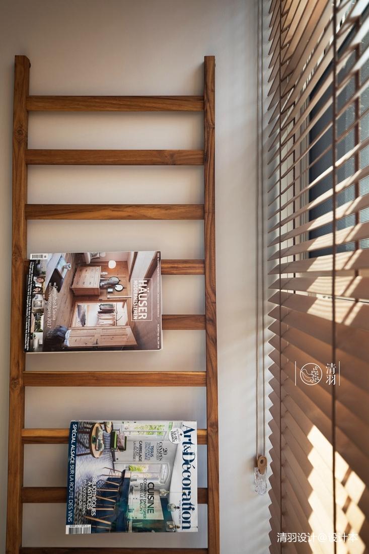 明亮122平混搭四居阳台设计美图功能区潮流混搭功能区设计图片赏析