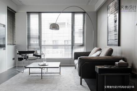 质朴160平现代三居客厅效果图欣赏三居现代简约家装装修案例效果图