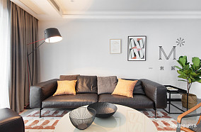 【一米家居】画中居118m²现代简约三居现代简约家装装修案例效果图