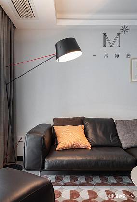 精美117平现代三居图片大全三居现代简约家装装修案例效果图