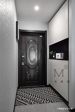 精致99平现代三居客厅效果图欣赏三居现代简约家装装修案例效果图