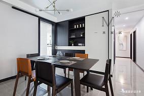 精美129平现代三居客厅美图三居现代简约家装装修案例效果图