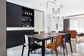 明亮88平现代三居客厅图片欣赏三居现代简约家装装修案例效果图