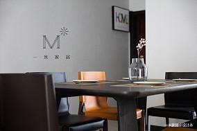 温馨127平现代三居装潢图三居现代简约家装装修案例效果图