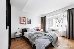 简洁97平现代三居客厅实景图三居现代简约家装装修案例效果图