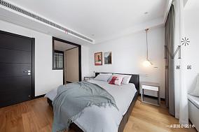 优雅105平现代三居实景图片三居现代简约家装装修案例效果图