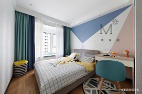 大气119平现代三居客厅实拍图三居现代简约家装装修案例效果图