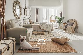 精美40平法式小户型卧室装修美图