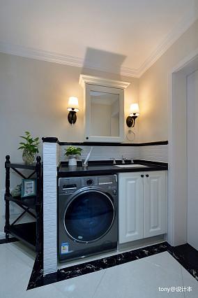 大气64平美式二居卫生间美图卫生间美式经典设计图片赏析