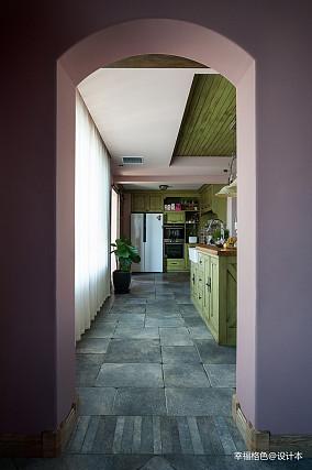 质朴54平法式复式厨房设计美图