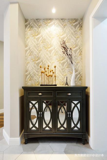 温馨的美式风格别墅背景墙设计