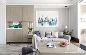 质朴26平简约小户型客厅装修美图