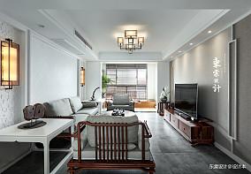 45万132㎡中式现代家装装修效果图