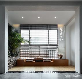 悠雅79平中式三居设计图三居中式现代家装装修案例效果图