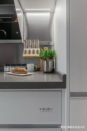 201921平现代小户型厨房案例图