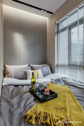 温馨23平现代小户型卧室设计图
