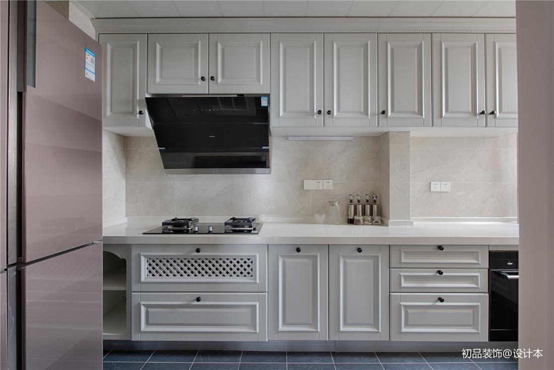 单身汪的现代美式三居室厨房设计餐厅美式经典厨房设计图片赏析