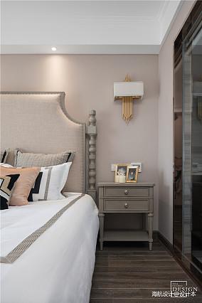 浪漫127平美式三居卧室装修图片