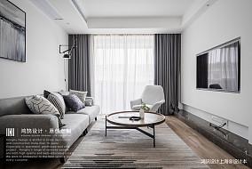 大气130平北欧三居客厅装潢图