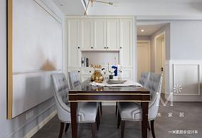 典雅52平美式二居客厅实景图二居美式经典家装装修案例效果图
