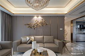 浪漫133平混搭四居客厅装修装饰图