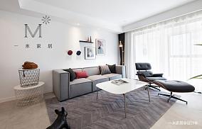 精美62平北欧二居装修美图二居北欧极简家装装修案例效果图