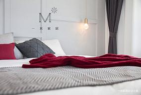 优雅55平北欧二居装饰美图家装装修案例效果图