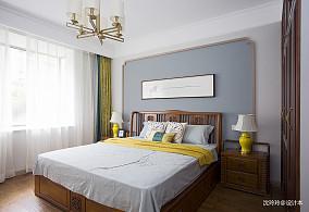温馨105平中式四居卧室效果图片大全