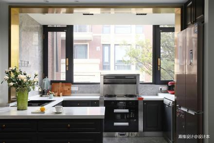 精美51平中式复式厨房图片欣赏餐厅