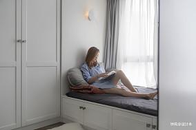 华丽24平北欧小户型卧室图片欣赏