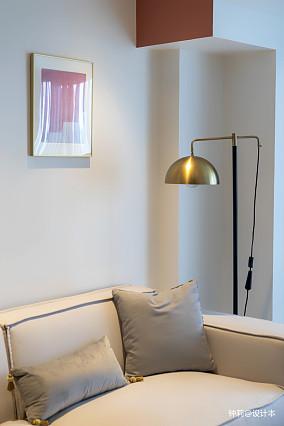 温馨33平北欧小户型客厅装修案例
