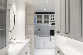 明亮26平北欧小户型厨房装修设计图