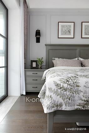 华丽76平美式二居卧室美图