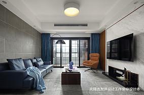 三居现代港式客厅设计