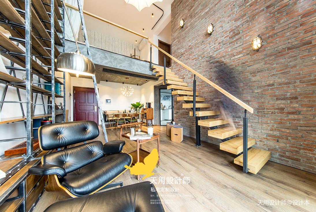 浪漫59平LOFT二居客廳裝飾美圖客廳潮流混搭客廳設計圖片賞析