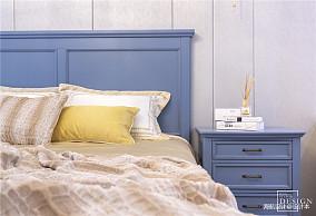 精致75平美式二居卧室实拍图
