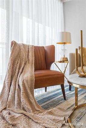 优美79平美式二居客厅效果图片大全