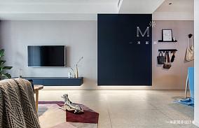 温馨78平北欧二居设计案例二居北欧极简家装装修案例效果图