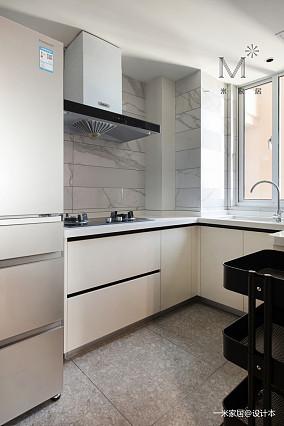 质朴57平北欧二居客厅装修案例