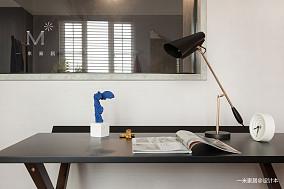 轻奢90平北欧二居效果图欣赏家装装修案例效果图