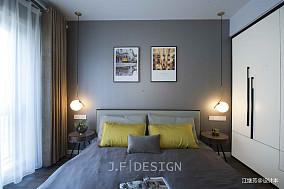 典雅104平现代四居卧室美图