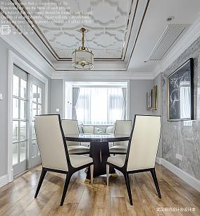 浪漫70平美式三居餐厅装修图厨房美式经典设计图片赏析