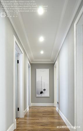 华丽96平美式三居过道装饰图功能区设计图片赏析