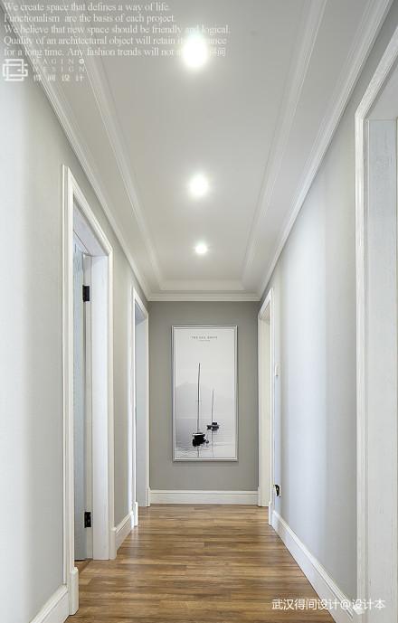 华丽96平美式三居过道装饰图功能区